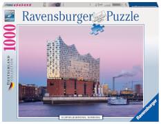 Ravensburger 19784 Puzzle: Elbphilharmonie Hamburg 1000 Teile
