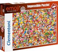Clementoni Impossible Puzzle Emoji 1000 Teile