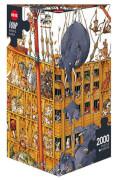 HEYE Dreieckspuzzle - Jean-Jaques Loup - Arche Noah - 2000 Teile