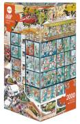 HEYE Dreieckspuzzle - Jean-Jaques Loup - Emergency Room - 2000 Teile