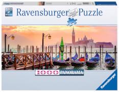 Ravensburger 15082 Puzzle: Gondeln in Venedig 1000 Teile