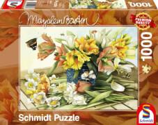 Schmidt Spiele Puzzle Marjolein Frühlingsblüher 1000 Teile