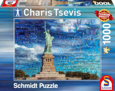 Schmidt Puzzle 59581 Charis Tsevis, New York, 1000 Teile, ab 12 Jahre