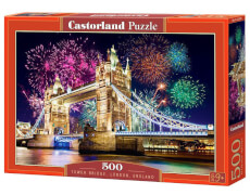 Spielwaren: Tower Bridge, England, Puzzle 500 Teile