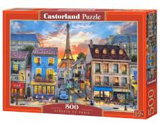 Spielwaren: Streets of Paris, Puzzle 500 Teile