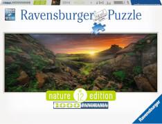 Ravensburger 15094 Puzzle: Sonne über Island 1000 Teile