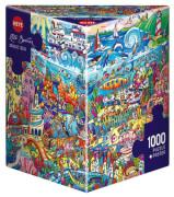 Puzzle Magic Sea Triangular 1000 Teile