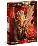 Clementoni Puzzle Anne Stokes Collection Innere Stärke 1000 Teile