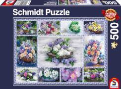 Schmidt Spiele Puzzle Blumenbouqet, 500 Teile