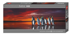 Puzzle King Penguins Panorama 1000 Teile