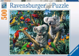 Ravensburger 14826 Puzzle Koalas im Baum 500 Teile