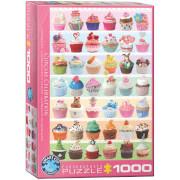 EuroGraphics Puzzle Cupcakefest 1000 Teile