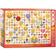 EuroGraphics Puzzle Emojipuzzle - Wie bist Du drauf? 1000 Teile