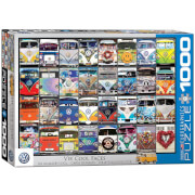 EuroGraphics Puzzle Tolle Bulligesichter 1000 Teile