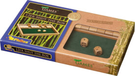 Philos Klappbrett (Shut the Box) 12er Bambus