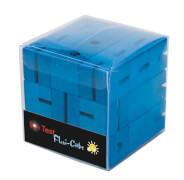 fridolin - IQ-Test Flexi-Cube - blau, Holz