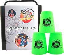 FlashCups Monsterline (12 St.) inkl. Box, neongrün