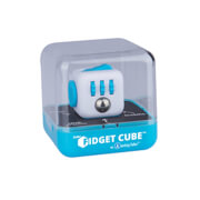 Fidget Cube Aqua, weiß-blau