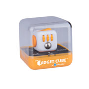 Fidget Cube Sunset, weiß-orange