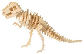 Holzpuzzle Dinosaurierskelett, sortiert