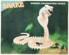 Holzpuzzle Wildtiere, sortiert