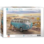 EuroGraphics Puzzle Love & Hope VW Bus 1000 Teile