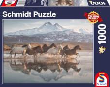 Schmidt Spiele Puzzle Pferde in Kappadokien 1.000 Teile
