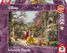 Schmidt Spiele Puzzle Thomas Kinkade Disney Schneewittchen Tanz mit dem Prinzen 1.000 Teile