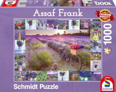 Schmidt Spiele Puzzle Assaf Frank Der Duft des Lavendels 1.000 Teile