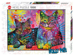 Puzzle Devoted 2 Cats Standard 1000 Teile