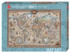 Puzzle Retro World Standard 1000 Teile