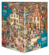 Puzzle Market Place Triangular 1000 Teile