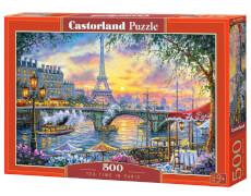 Castorland Tea Time in Paris, Puzzle 500 Teile