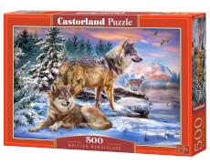 Castorland Wolfish Wonderland, Puzzle 500 Teile