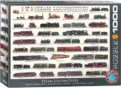 EuroGraphics Puzzle Dampflokomotiven 1000 Teile
