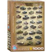 EuroGraphics Puzzle Panzer des 2. Weltkriegs 1000 Teile