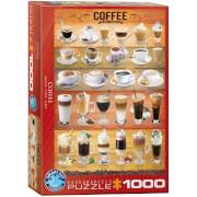 EuroGraphics Puzzle Kaffee 1000 Teile