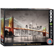 EuroGraphics Puzzle New York City Brooklyn Bridge 1000 Teile