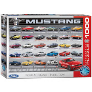 EuroGraphics Puzzle Ford Mustang Evolution 1000 Teile