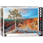 EuroGraphics Puzzle Grand Canyon Winter Sonnenaufgang 1000 Teile