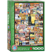 EuroGraphics Puzzle Reise um die Welt 1000 Teile