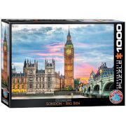 EuroGraphics Puzzle London Big Ben 1000 Teile