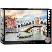 EuroGraphics Puzzle Venedig Rialto Bridge 1000 Teile