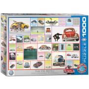 EuroGraphics Puzzle VW Käfer - 1000 Teile