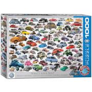 EuroGraphics Puzzle Welcher ist Dein Käfer? 1000 Teile