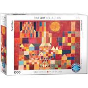 EuroGraphics Puzzle Burg und Sonne von Paul Klee 1000 Teile