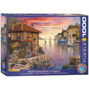EuroGraphics Puzzle Mittelmeerhafen von Dominic Davison 1000 Teile