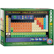 EuroGraphics Puzzle Periodensystem der Elemente 1000 Teile