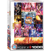 EuroGraphics Puzzle KISS The Hottest Show on Earth 1000 Teile