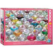 EuroGraphics Puzzle Teetassenkollektion 1000 Teile